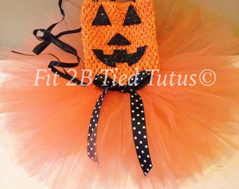 Pumpkin Tutu Costume, Jack-o-lantern