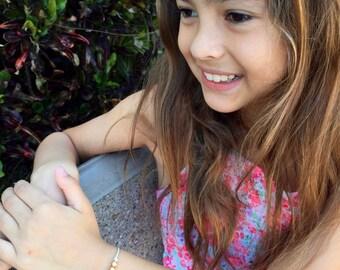 Girls Friendship Bracelet, Make a Wish Bracelet, Three Wishes, Adjustable, 16 Colors