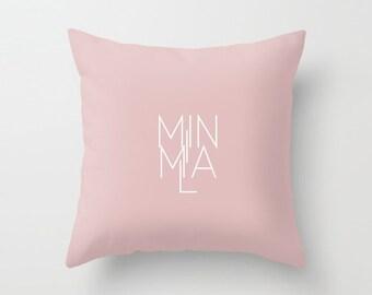 Minimal Milan Pale Pink Pillowcase
