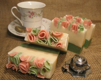 Tea and Roses Soap