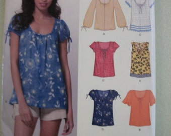 New Look 6891 Misses (Size A 10-22) 7 sizes in 1 top