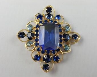 Beautiful Blue Julianna Brooch