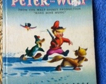 Little Golden book - Peter and the Wolf, 1946, 1947