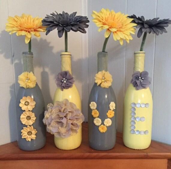Wine bottle decor love wine bottles wine bottle vases lady for Wine bottle crafts for sale