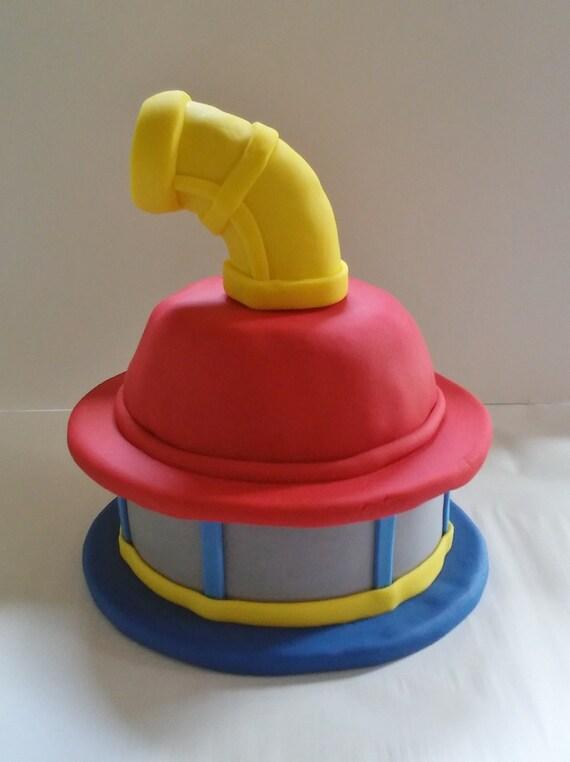 PAW PATROL LOOKOUT Edible Fondant Cake Topper
