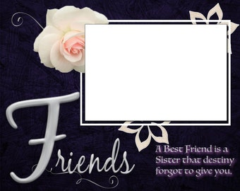 8x10 Best Friends Picture Frame