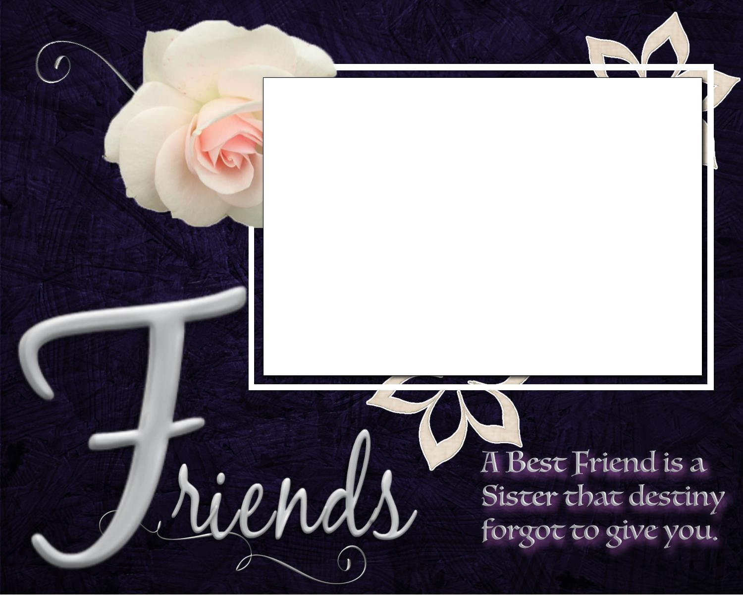 Friendship Picture Frames With Quotes | Imaganationface.org