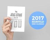 2017 Seinfeld Desk Calendar, No Soup For You, Quote Calendar, Monthly Calendar, Jerry Seinfeld, Jerk Store, The Ocean Called, Desk Calendar