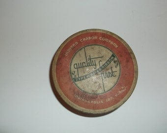 Vintage Quality First Typewriter Ribbon Tin