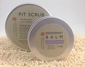 Natural Body Kits, PIT KIT Natural Deodorant, Natural Skin Care, Daily Freshness System