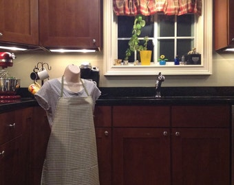 Green Barista Style Apron