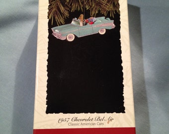 1957 Chevy Bel Air, 4th in the Hallmark Classic Car Series, Dated 1994