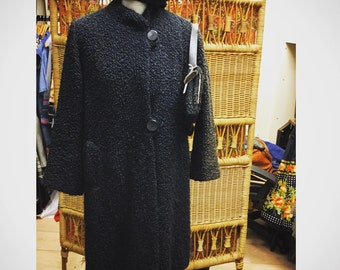 Stunning 1960's Coat with matchinh bag & hat