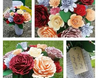 Affirmations Paper Floral Bouquet