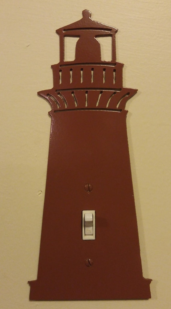 Lighthouse switch plate or outlet cover free shipping for Lighthouse switch plates