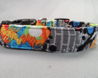 Graffiti Dog Collar