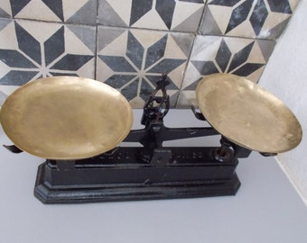 Antique French Weighing Scales