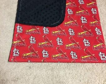 St Louis Cardinal Baby Blanket
