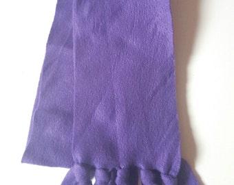 Purple toddler/kid scarf