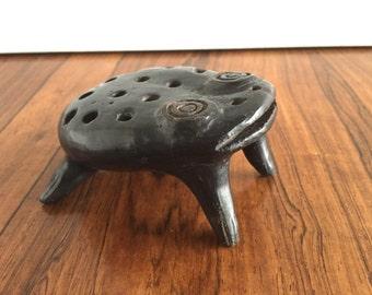 Vintage Folk Arts Ceramic Frog