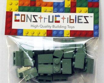 Constructibles® x25 Sand Green 1x2 Bricks 3004 - LEGO® Bulk Parts