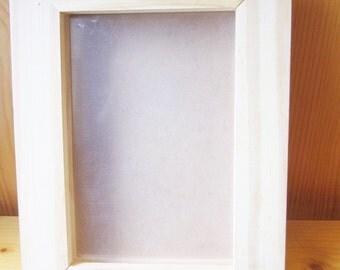 Wood Art Frame, Photo Frame, Frame for Quilling, Wood Burn, Custom Personalised Gift, ShineKidsCrafts