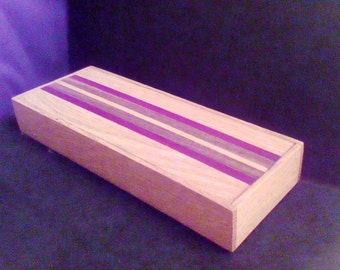 Hardwood Pencil Box