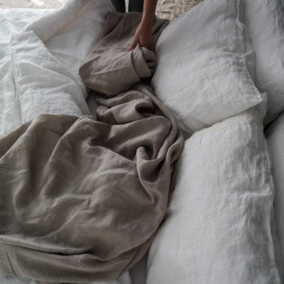 Disposable Bed Sheets Australia: LINEN SHEET. Bed Sheets French Linen. Handmade Linen Bedding