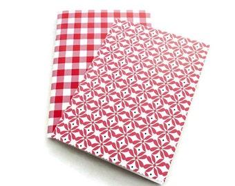 2 Mini Journals - Mini Notebooks - Jotters - Journal - Blank Journal - Blank Book - Sketchbook - Mini Book - Pocket Journal - Mini Diary