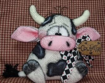 Cowbella Pattern #172 - Primitive Doll/Ornie Pattern