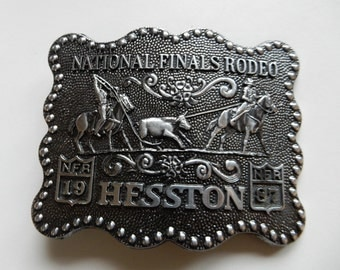 1987 Fifth Edition Anniversary Hesston Belt Buckle