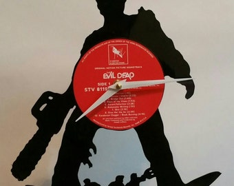 Evil Dead Army of Darkness Record Clock