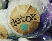 4 Vaccine Detox Bath Bombs W/ FREE Vaccine Liberation Sticker Also Heavy Metal Detox
