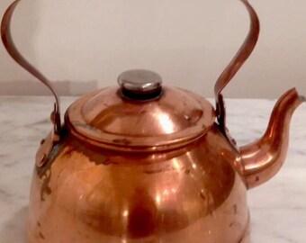 Vintage Brass Tea pot (6 of 6)