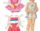Patsy Vintage Style Printable Paper Doll
