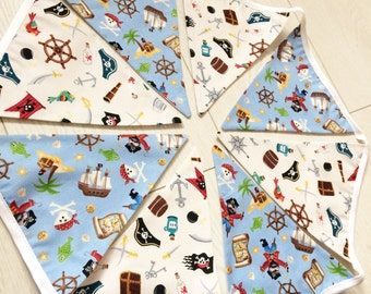 Pirate bunting. 2 Metres   Available in many different lengths