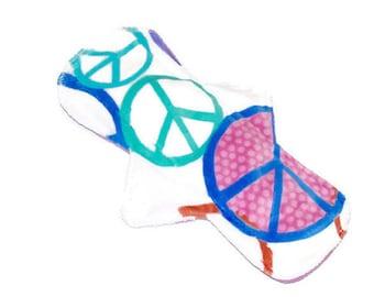 "Minky 9 1/2"" Reusable Cloth Pads!Soft Minky Cloth Mama Reusable and Washable Cloth Pads!"