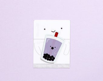 Bubble Tea Fridge Magnet