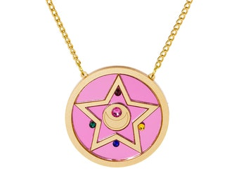 Crystal Star Compact Necklace