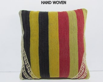 ethnic pillow unique pillow bedding pillow fabric pillow bohemian textile decorative throw pillow accent pillow yellow pastel pillow 31658