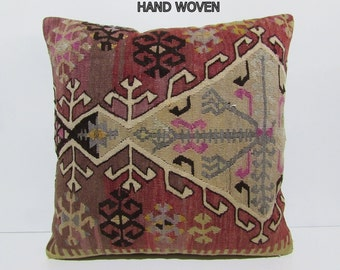 items similar to red pillow cover cream pillow case brown cu