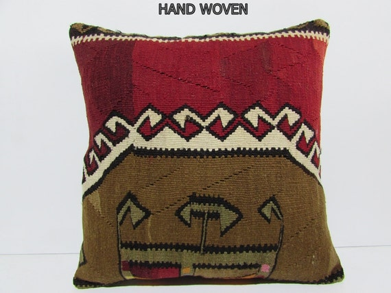 kilim pillow 24x24 euro sham pillow cover extra large pillow