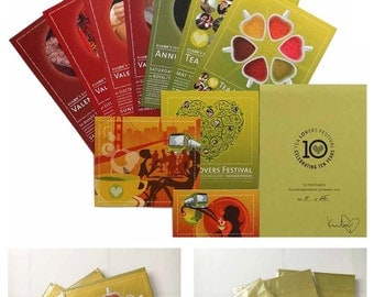 Tea Lovers Festival: 10 Postcards Set > Limited-Edition of 25