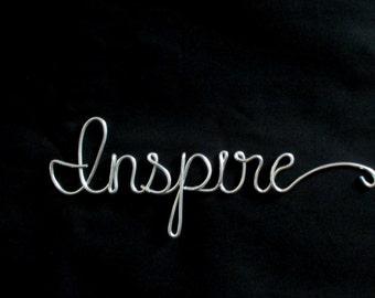 palabras de alambre alambre palabra inspirar escritura alambre guin palabras palabras decorativas