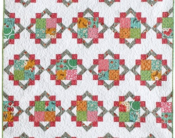 Cathedral Square PDF Quilt Pattern