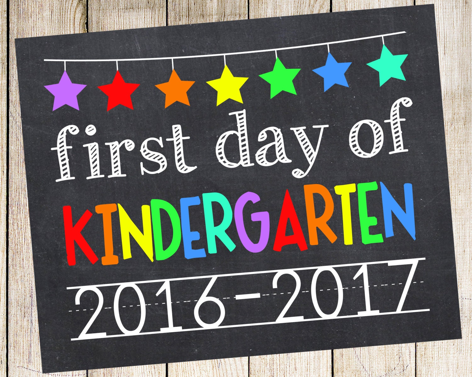 Fabulous image in first day of kindergarten printable
