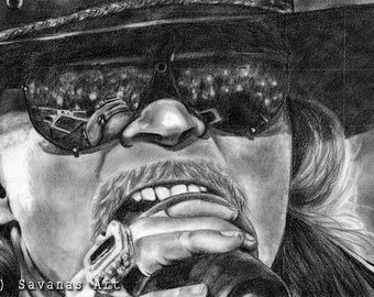 Axl Rose - Original Drawing