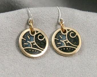 B.Blues Earrings