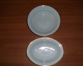 Noritake Guilford Set Of Two Serving Bowls