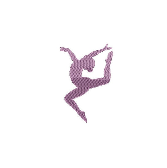 Buy3get1 Free Machine Embroidery Filled Gymnast